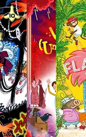Witches Unwelcome, Red Cover, Hotel Flamingo, Yellow, Green, Xxxholic, Manga, Colourful , Children's Books
