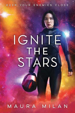 Ignite the Stars, Maura Milan, Helmet, Yellow, Purple, Red, Sci-Fi, Girl
